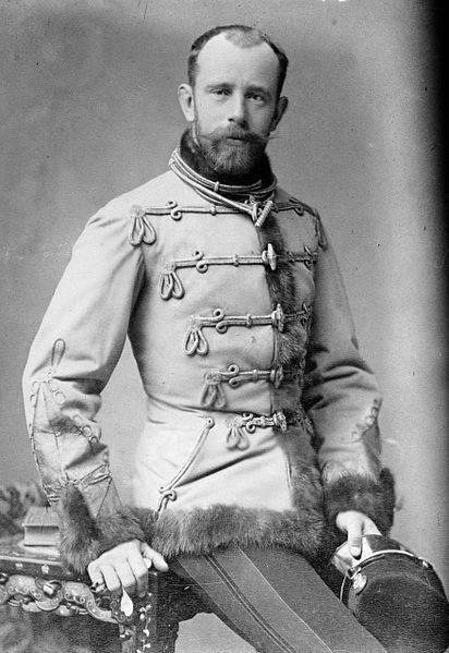 L'Archiduc Rodolphe en 1887