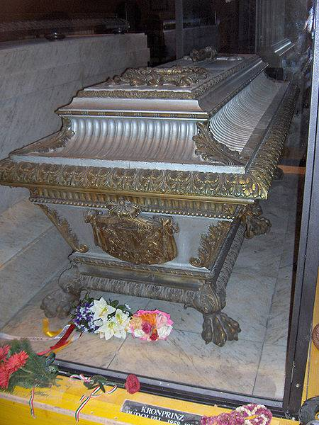 Tombeau de Rodolphe d'Autriche (Crypte des Capucins à Vienne)