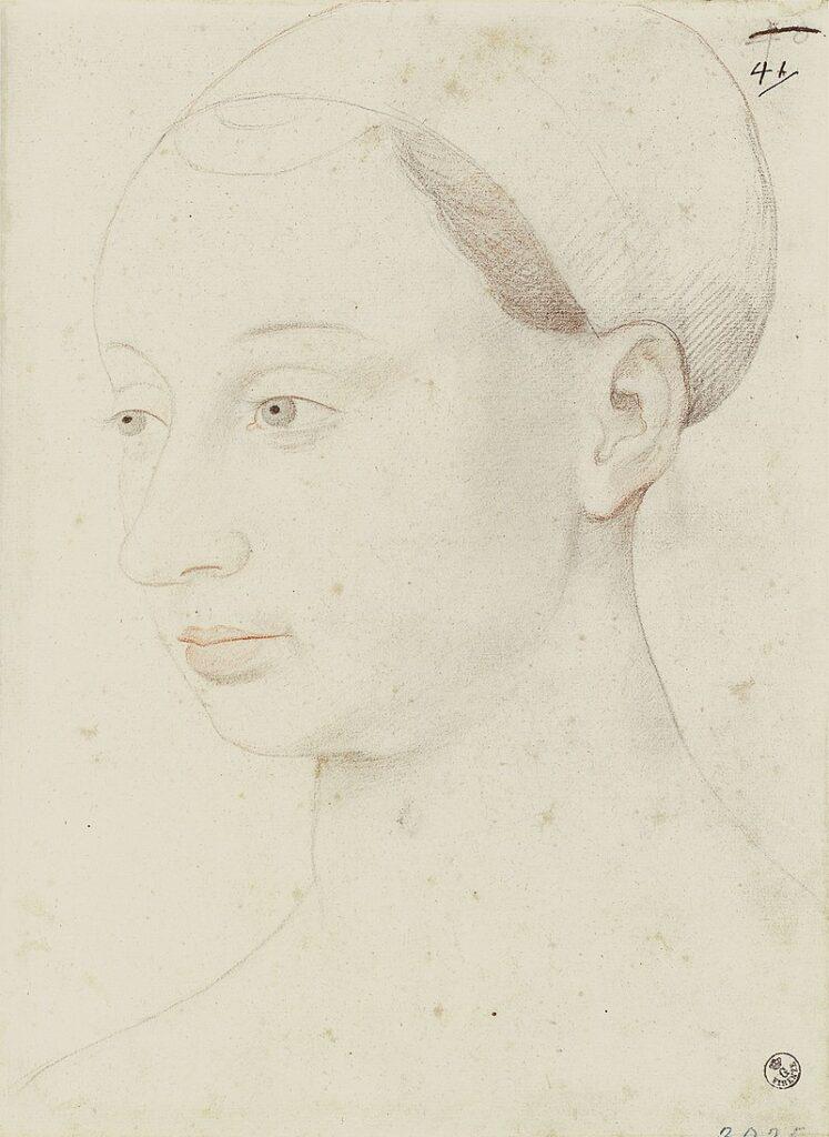 Agnès Sorel d'après Jean Fouquet (copie du XVIe siècle)