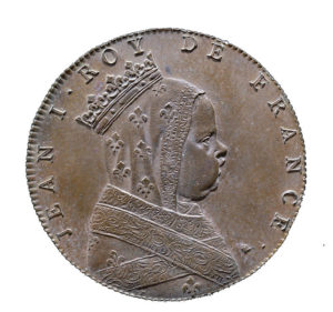 Jean Ier, par le médailleur Jean Dassier 1676-1763)