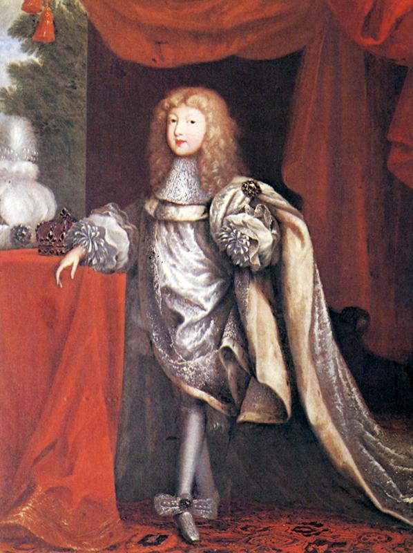 Louis XIV, enfant, par Pierre Mignard (XVIIe siècle)