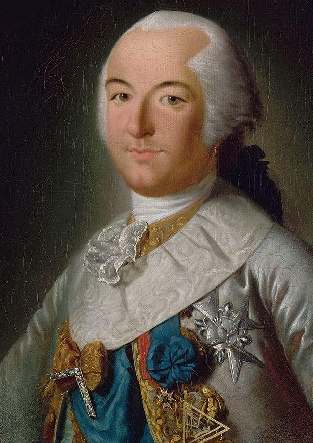 Louis-Philippe Joseph d'Orléans, par Michel Garnier (1777)