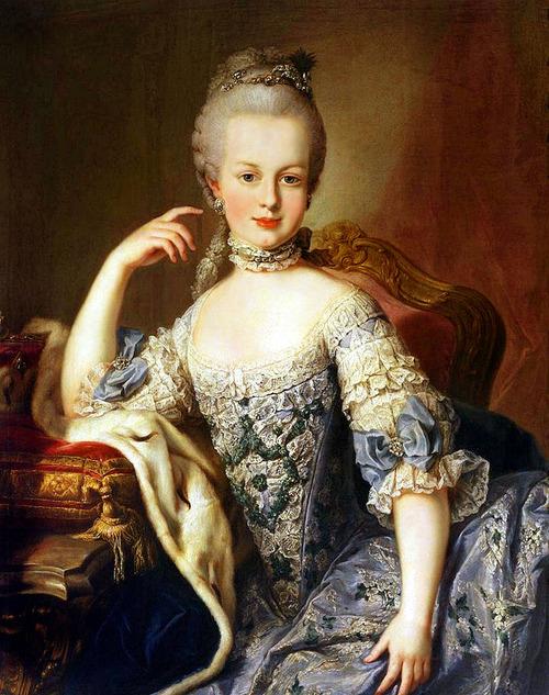 Marie-Antoinette a-t-elle emprunté les traits de sa soeur ?