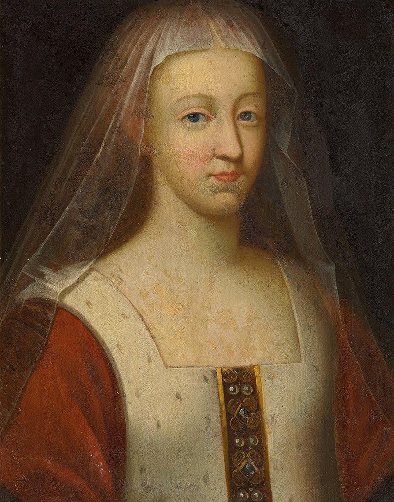 Agnès Sorel, favorite de Charles VII (anonyme, XVIIe siècle)