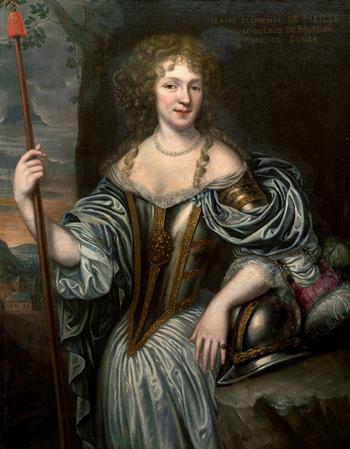Claire Clémence de Maillé, âgée (anonyme, XVIIe siècle)
