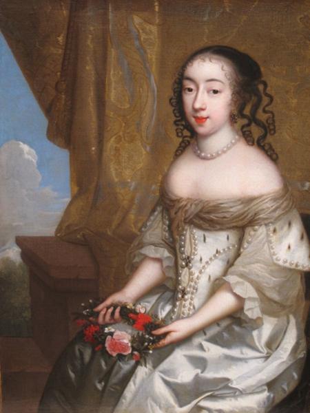 Claire Clémence de Maillé, par Charles Beaubrun XVIIe siècle)