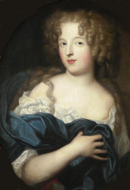 Mademoiselle de Fontanges, par Pierre Mignard (1678)