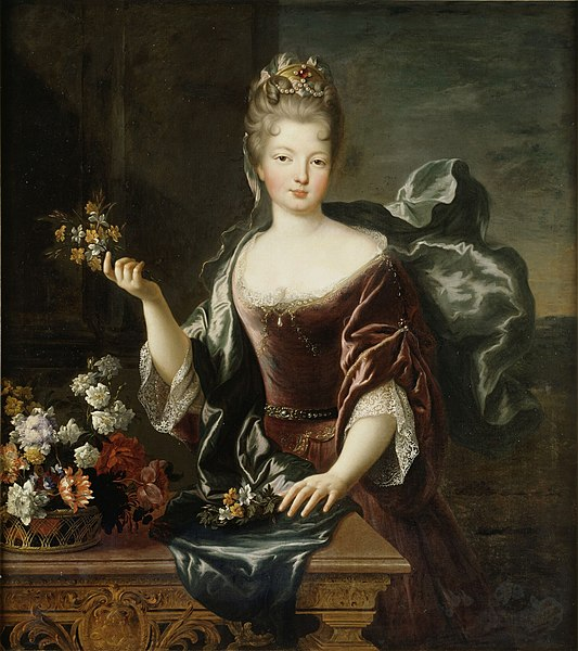 Françoise-Marie de Bourbon, par François de Troy (1692)
