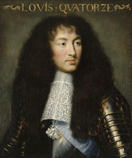Louis XIV, par Charles Lebrun (vers 1662)