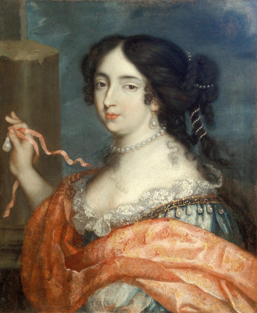 """""""Françoise d'Aubigné présentant la marquise d'Heudicourt à l'Amour"""", par Pierre Mignard"""
