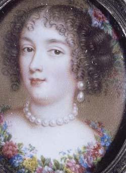 Françoise d'Aubigné, par Jean Petitot (vers 1658)