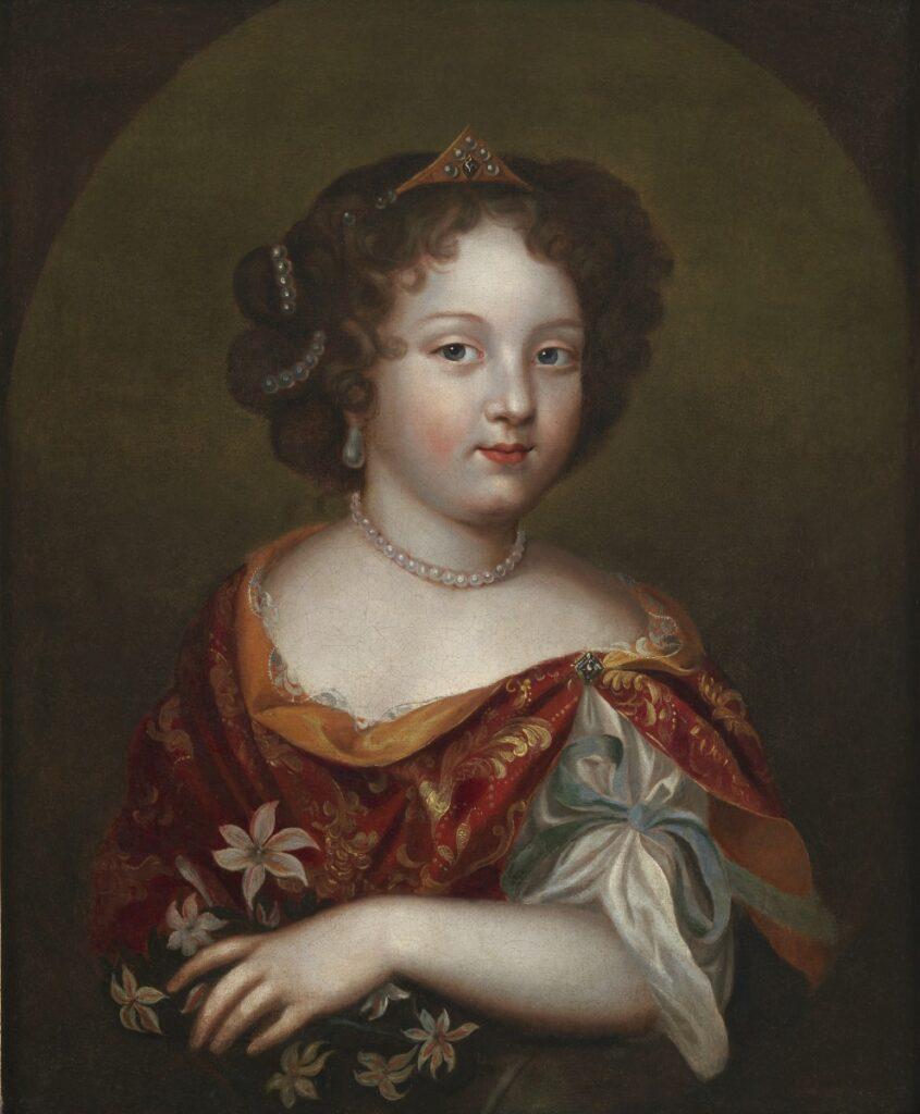 Marie-Anne, Mlle de Blois, âgée de 8 ans (atelier de Pierre Mignard, XVIIe siècle)