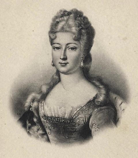 La duchesse de Berry (lithographie par Delpech, 1840)