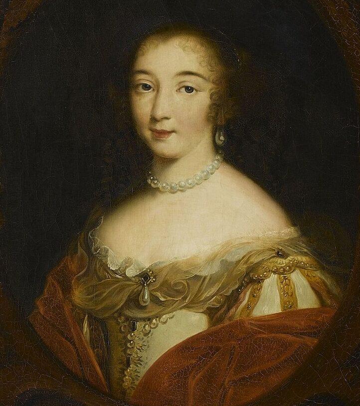 Françoise-Madeleine dOrléans, par Louis Edouard Rioult XIX siècle)