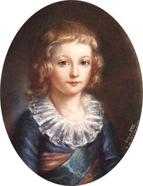 Louis XVII, par Elisabeth-Louise Vigée-Lebrun (XVIIIe siècle)