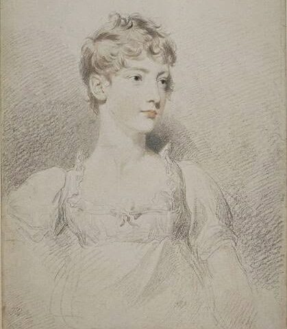 La princesse Charlotte, enfant, par Thomas Lawrence