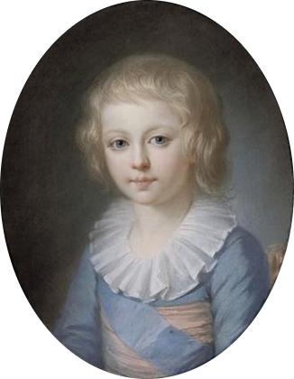 Le dauphin Louis-Joseph, par l'Ecole française (XVIIIe siècle)