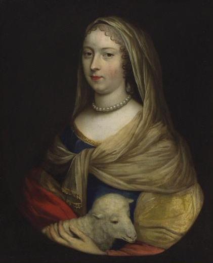Louise de La Vallière par Charles Beaubrun (XVIIe siècle)
