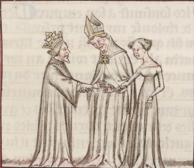 Le mariage de Philippe II et d'Ingeburge de Danemark