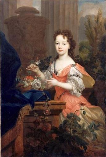 Marie-Louise-Elisabeth d'Orléans, par Pierre Gobert (début XVIIIe siècle)