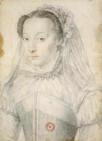 Marie de Clèves, par François Clouet (1571)