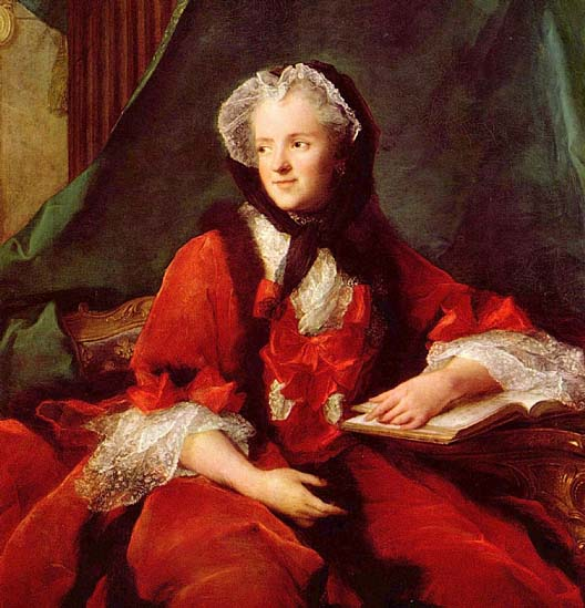 Marie Leszczynska, par Jean-Marc Nattier, en 1748