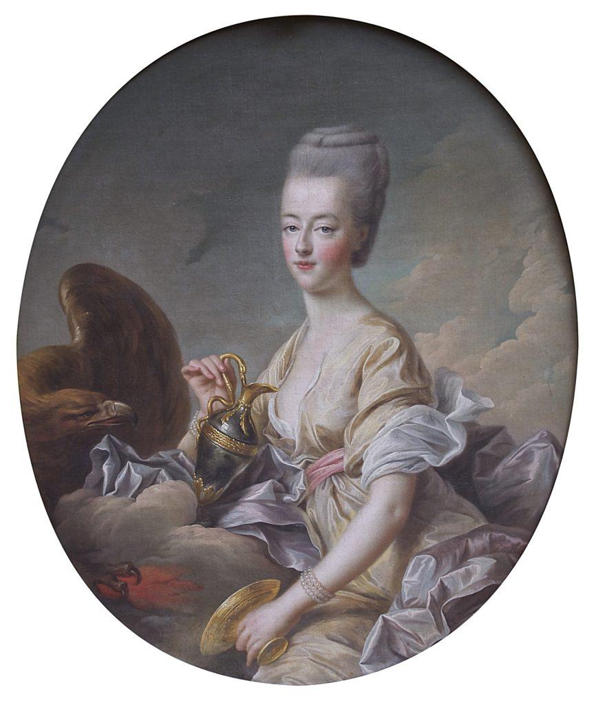 La dauphine Marie-Antoinette, par François-Hubert Drouais (1773)