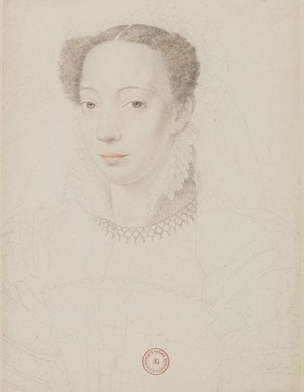 Marie de Clèves, par François Clouet (1570)