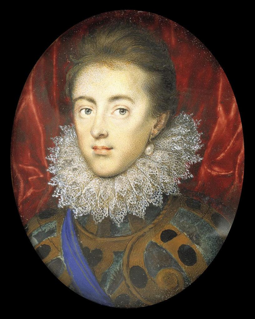 Charles Stuart, prince de Galles, par Isaac Oliver (1615)