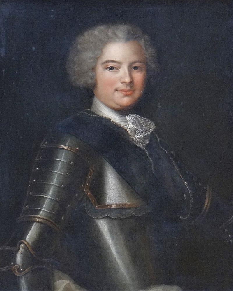 Le comte de Riom, par l'Ecole française (portrait posthume, vers 1785)