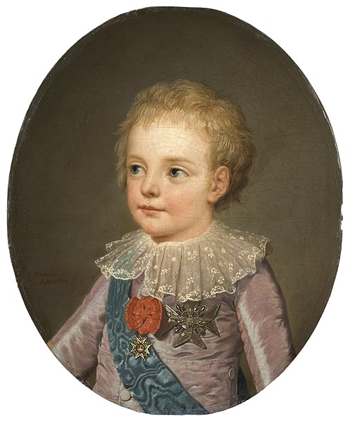 le dauphin Louis-Joseph, par Adolf Ulrich Wertmüller