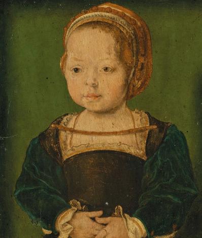 Portrait présumé de Diane de France, par Corneille de Lyon (XVIe siècle)