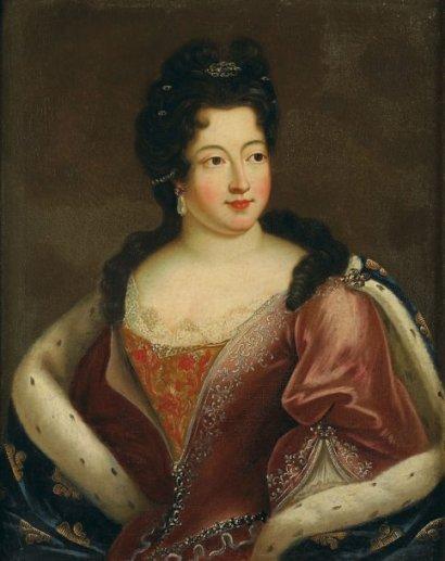 Marie Louise d'Orléans par Nicolas de Largillière vers 1714)