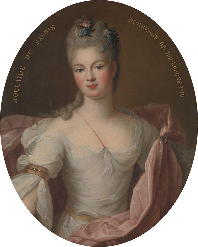 La duchesse de Bourgogne, par Pierre Gobert (1710)