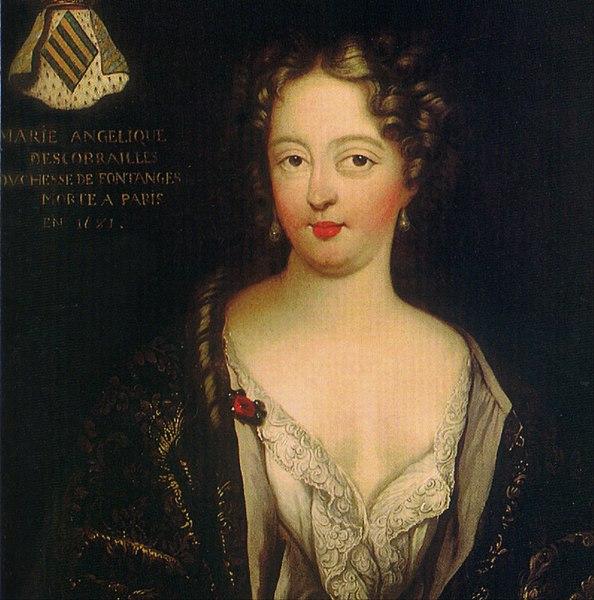 Portrait posthume de Marie-Angélique de Fontanges (anonyme)