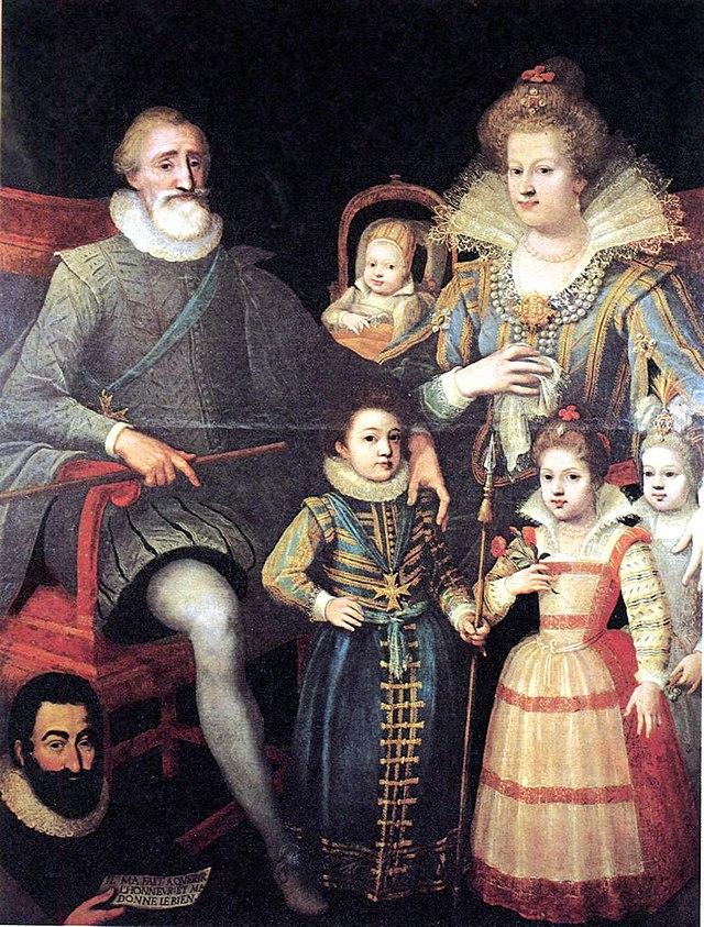 La familled'HenriIV, attribué à Frans Pourbus le Jeune (XVIIe siècle)