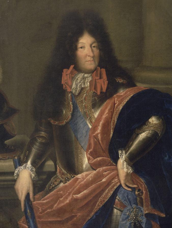 Louis XIV, attribué à Jean Nocret, vers 1680)