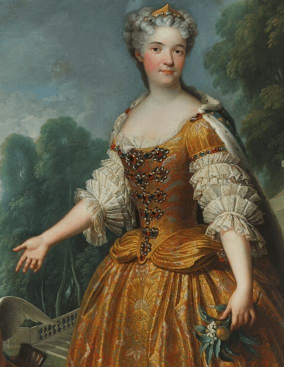 Marie Leszczynska, par François Stiémart (XVIIIe siècle)