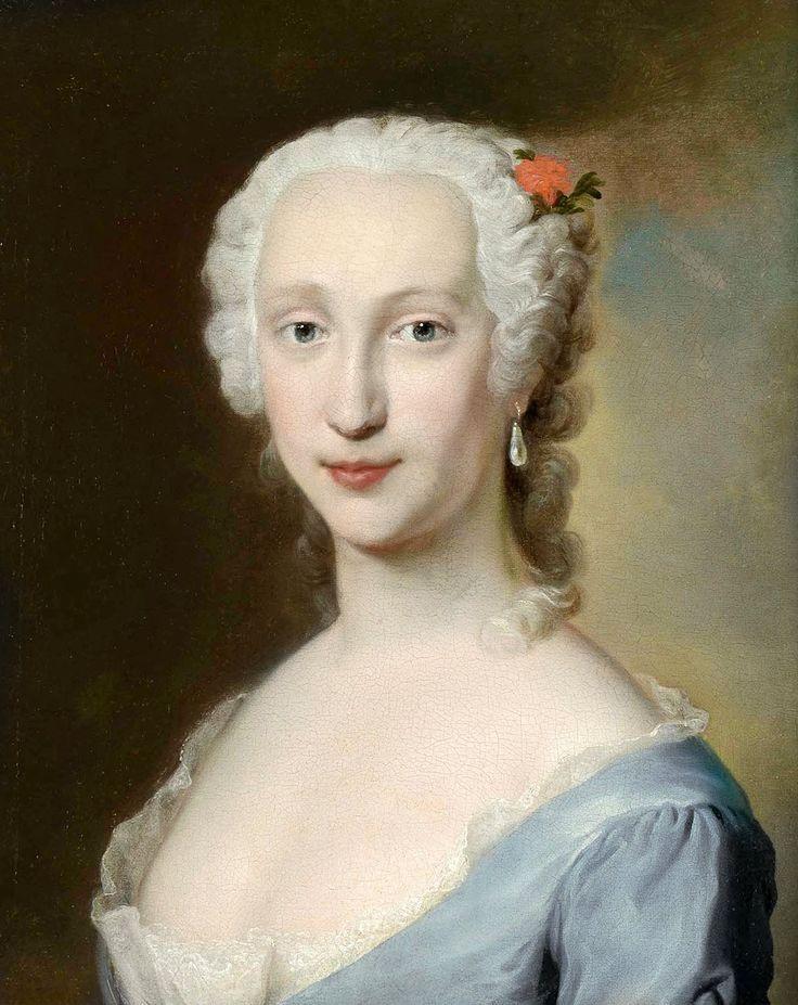 Marie-Thérèse-Raphaëlle d'Espagne, par Jacopo Amigoni (1745)