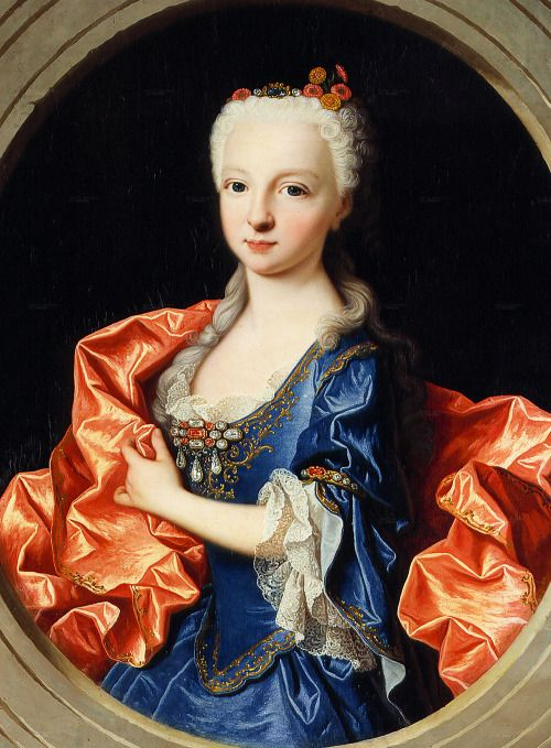 L'infante Marie-Thérèse-Raphaëlle, par Jean Ranc (1731)
