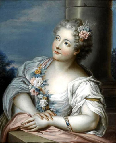 Marie-Victoire de Noailles, par l'Ecole Française (XVIIIe siècle)