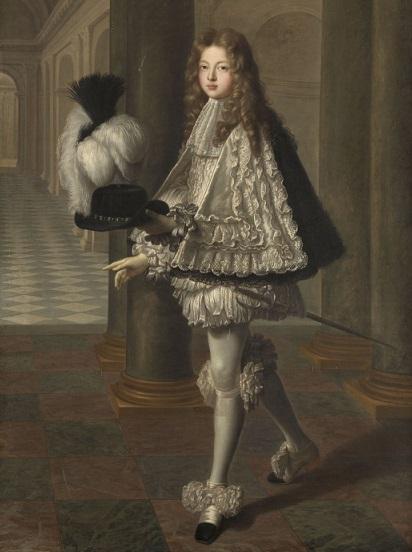 Le comte de Toulouse en habit de novice du saint esprit, par Louis de Boulogne (1693)