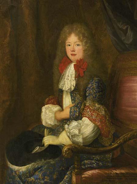 Louis-Alexandre de Bourbon, par Alexis Simon Belle (vers 1705)