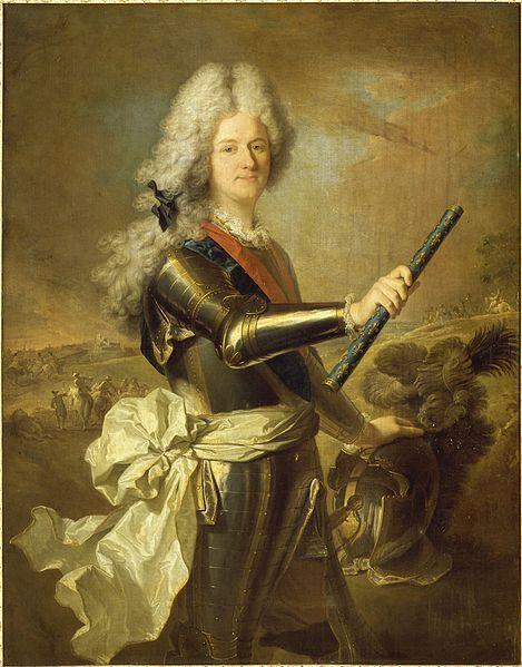 Le comte de Toulouse, par Hyacinthe Rigaud (vers 1708)