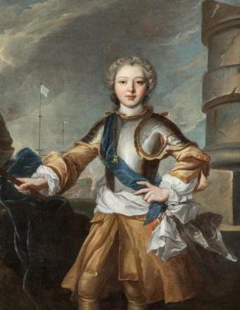 Le duc de Penthièvre, enfant (attribué à Jean-Marc Nattier)